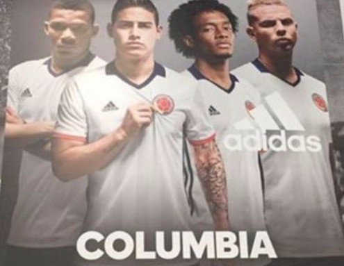 Addidas - Colombia spelling mistake